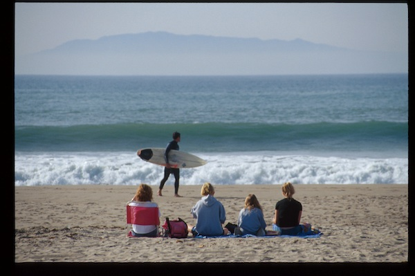 Oxnard Beach Channel Islands in the background….