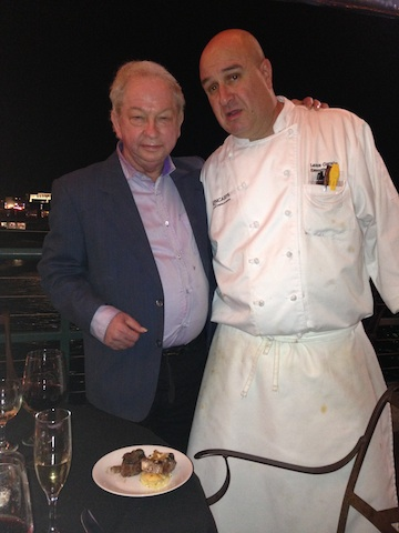 Chef Lance with Michael Hepworth