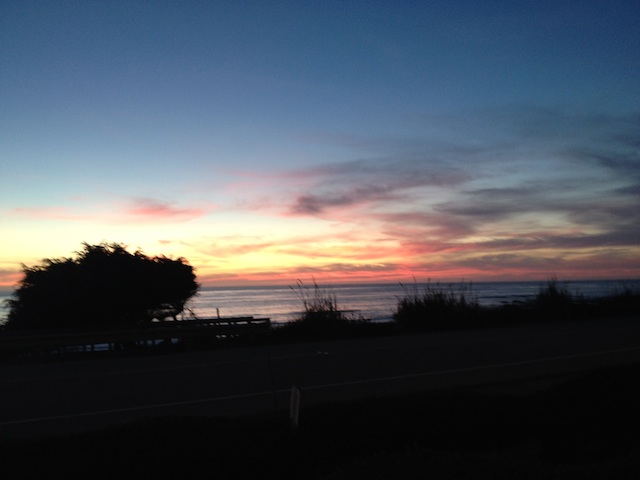 Morro Beach FogCatcher Inn Sunset View